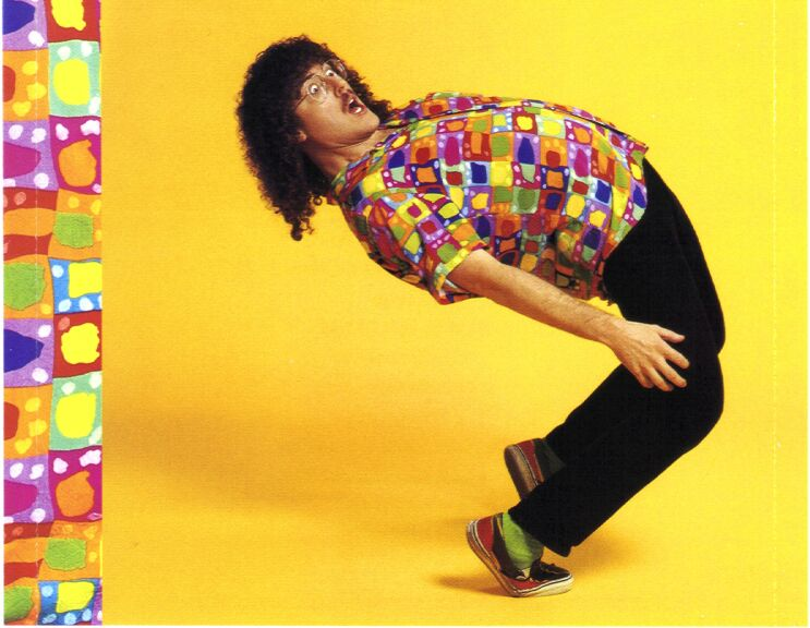 "XVR27's ""Weird Al"" Yankovic Homepage - Scans - Bad Hair Day"