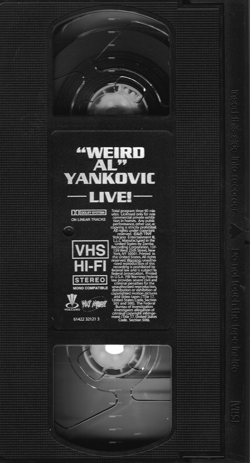 """The Vcr From Heck Fifty Cartoons Week Tuesday 50: XVR27's """"Weird Al"""" Yankovic Homepage"""